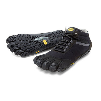 Vibram Fivefingers Trek Ascent Insulated Black Men's Size 44 EU