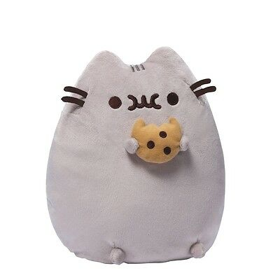 Pusheen with Cookie Plush Soft Toy 24cm New With Tags