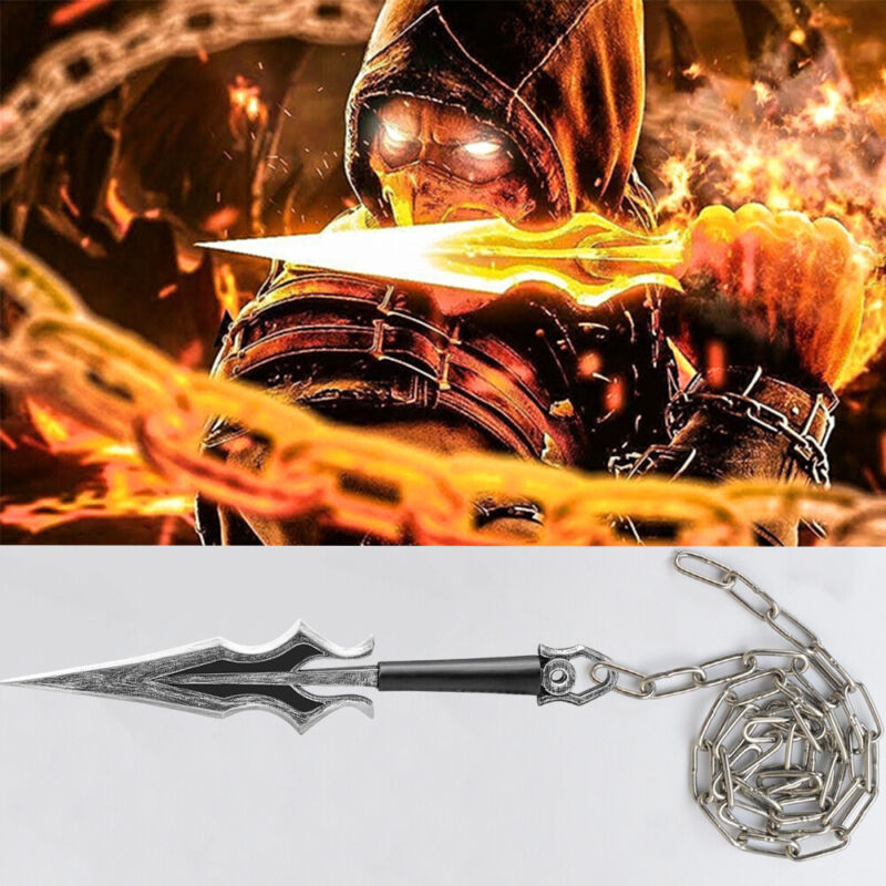 Mortal Kombat Weapon Sub-Zero / Scorpion / Mileena Prop Costume Accessory 2021