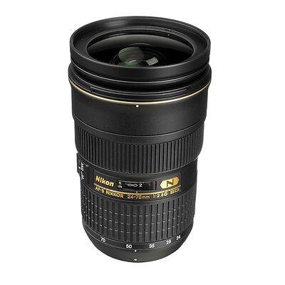 Nikon AF-S Nikkor 24-70mm f/2.8G ED Autofocus Lens for Digital SLR Cameras