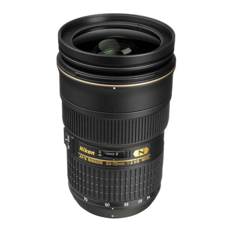 Nikon AF-S NIKKOR 24-70mm f/2.8G ED Standard Zoom Lens Black 2164