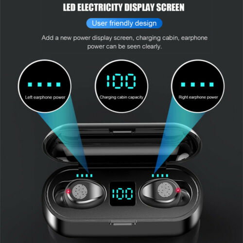 Soltekonline Bluetooth 5 0 Headset Tws Wireless Earphones Mini Earbuds Stereo Headphones Ipx6