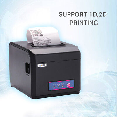 Hoin 80mm 58mm Pos Dot Receipt Paper Barcode Thermal Printer Usblan Port