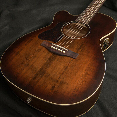 New Art & Lutherie A&L Legacy Concert CW Q1T Left Handed Bourbon Burst Acoustic