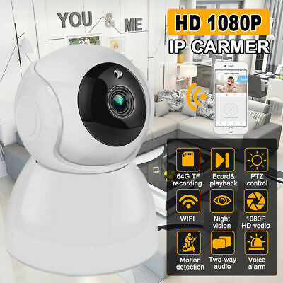 WIFI#1080P ONVIF P2P Outdoor Wireless I R Cut Security IP Camera Night Vision, used for sale  Shipping to Nigeria