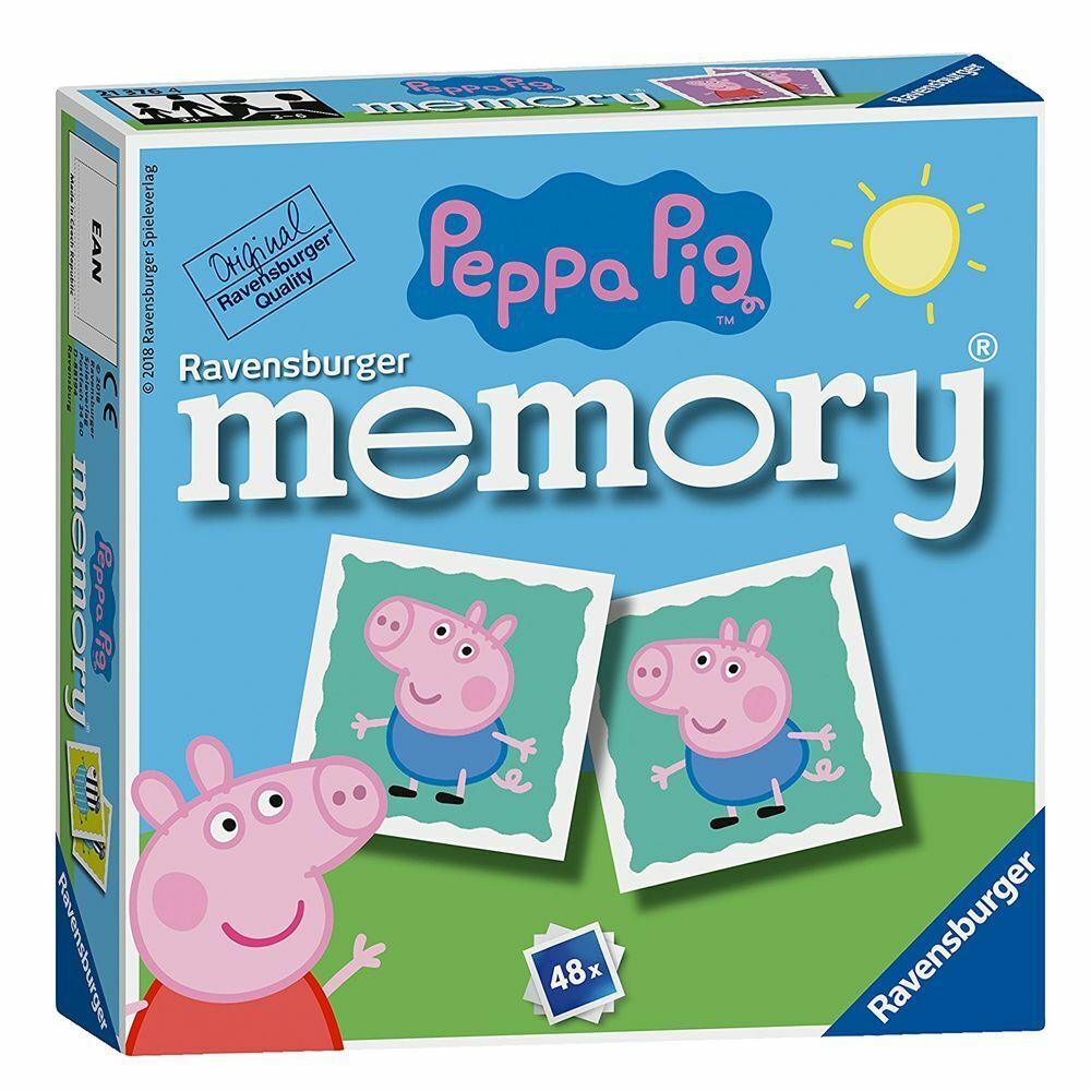 Mini Memory® | 48 Bildkarten | Peppa Wutz | Peppa Pig | Ravensburger | Spiel