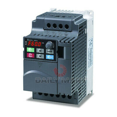 New In Box Delta Vfd015el43a Inverter Frequency Converter 1.5kw 380v 3-phase