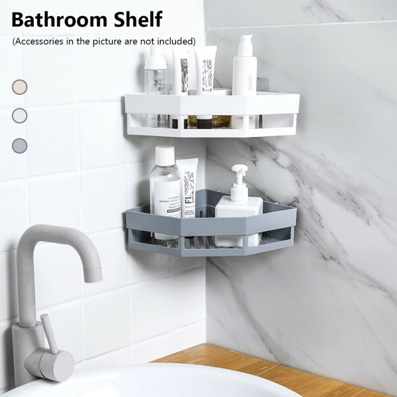 Storage Rack Corner Holder Shower Gel