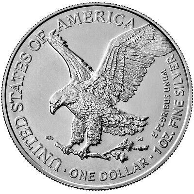 Best  PRESALE - 2021 $1 TYPE 2 AMERICAN SILVER EAGLE 1OZ BRILLIANT UNCIRCULATED