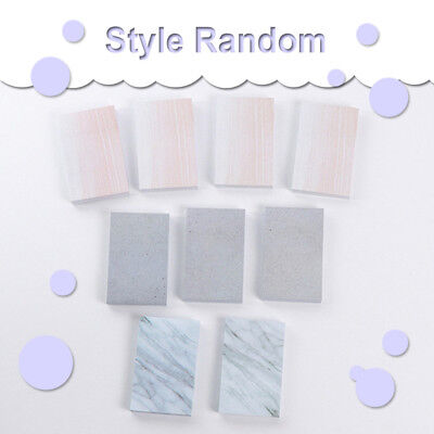 Creative Rectangle Stones Sticky Notes Memo Pad Planner Stickers Stationery 1
