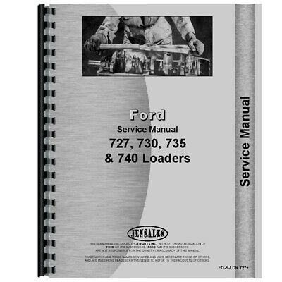 New Service Manual Fits Ford 4500 Loader