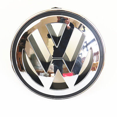 150mm Front ABS Chrome Grille Round Emblem Logo For VW Golf Jetta Passat Tiguan