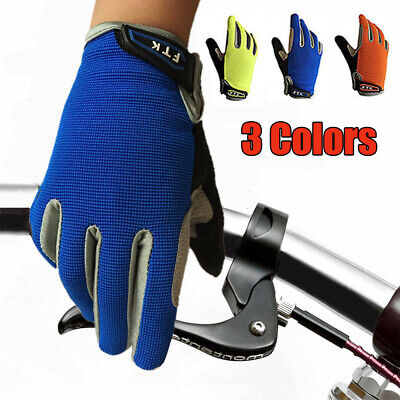 Kids Bike Gloves Full Finger Children Outdoor Bike Cycling Touch Screen US Stock Kids Outdoor Motorcycle