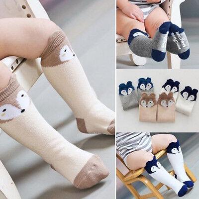 Lovely Baby Toddlers Fox Soft Knee High Socks Tights Leg Warmer Stockings Hot