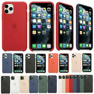 Case For Apple iPhone 11,11 Pro,11 Pro Max Genuine OEM Liquid Silicone  Cover