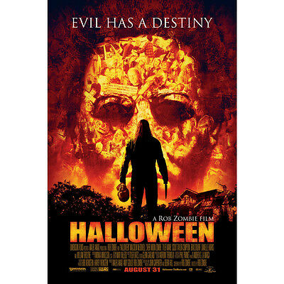 HALLOWEEN Movie Art Silk Poster Print 12x18 24x36 inch Pictures for Home Decor  - Halloween Decorations For Modern Homes