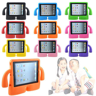 Ipad 2 Case Cover - Shockproof Kids Handle Foam Child Safe Case Cover For iPad 2 3 4 Mini 1234 Air2