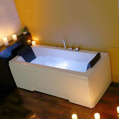 1700MM Whirlpool Shower Spa Jacuzzis Massage Corner 2person Bathtub MODEL: 5170M