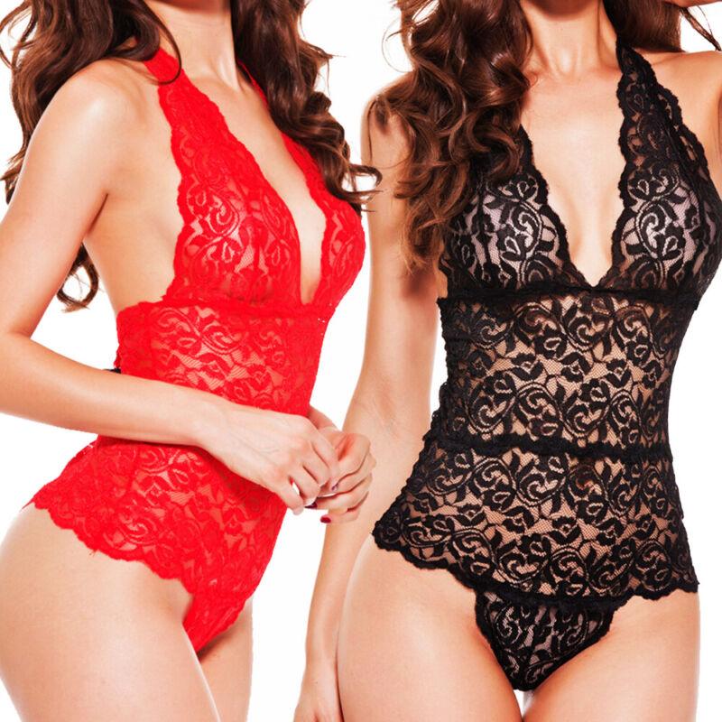 Sexy-Lingerie-Sleepwear-Lace-Women