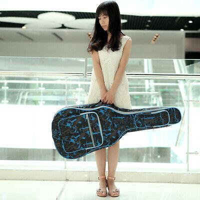 Waterproof Electric Guitar Gig Bag Soft Case Double Strap Backpack Padded V1U3