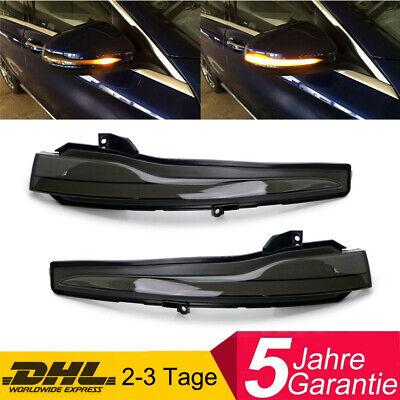 Dynamische LED Aussenspiegel Blinker schwarz für Mercedes W205 W222 W217 W213