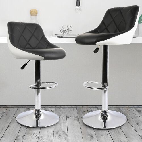 Barhocker mit Lehne Bar-Stuhl Tresenhocker Drehhocker Küchenhocker*2 DHL