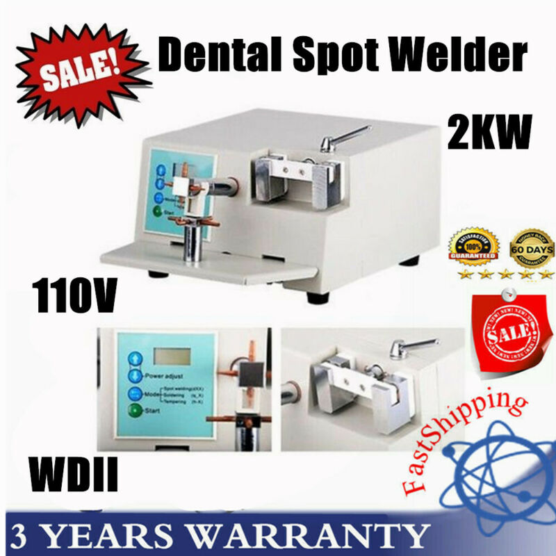 Dental Spot Welder oral welding machine Orthodontic Material Heat Treatment WDII
