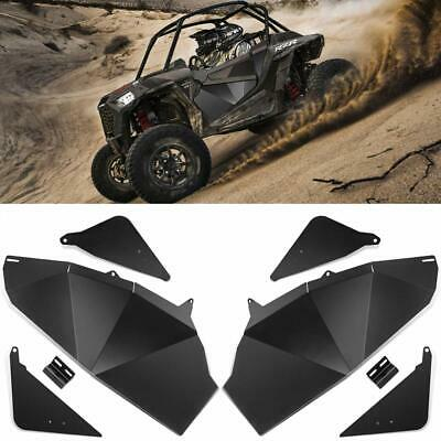 Lower Door Panel Inserts Half Doors For Polaris RZR S 900 XP 1000 Turbo 2014-20