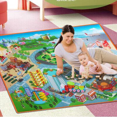 Alfombra Road niños alfombra juguete tapete de juego niños bebé mapa alfombra