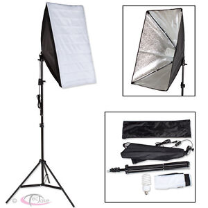 ILLUMINAZIONE-SET-STUDIO-FOTOGRAFICO-LAMPADA-FLASH-KIT-SOFTBOX-STATIVO-BORSA