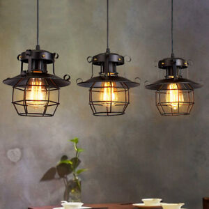 28f124e7bd53 Perfect Vintage Industrial Retro Loft Glass Ceiling Wall Lamp Shade  PendantLight