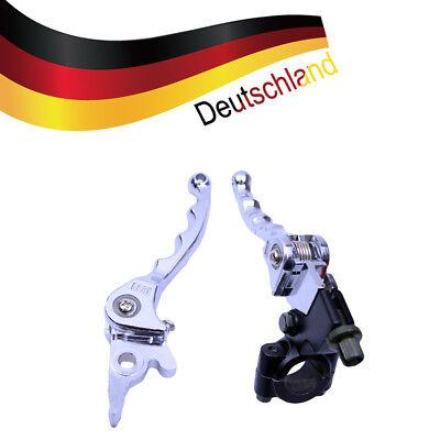 2x Kupplungshebel Bremshebel Klappbar Chrom für 110 125 140 200cc Dirt Pit Bike