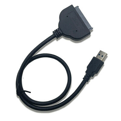 """New USB 3.0 to 2.5"""" SATA III Hard Drive Adapter Cable SSD HDD To USB Converter"""