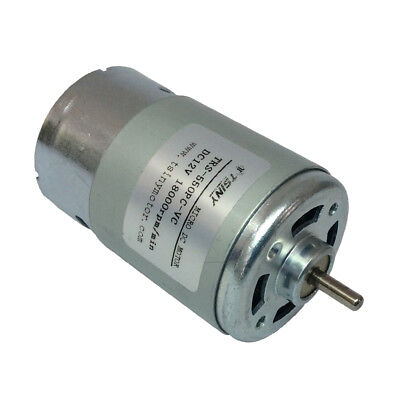 Small Electric Pmdc 12v 18000rpm Dc Motor High Speed Toys Motor Diy Tool Motor