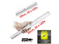 New 18cm 36cm Rechargeable LED Under Cabinet Light PIR Motion Sensor Cool White USB Charging Cable