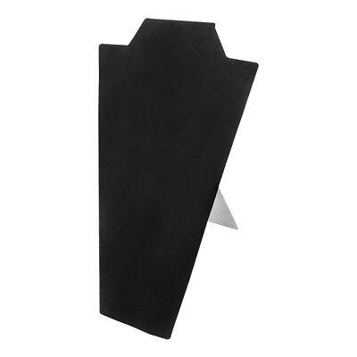 necklace easel pad black velvet display holder