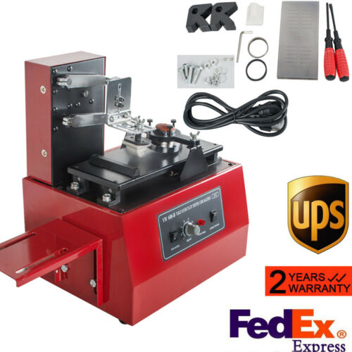 【USPS】ELECTRIC PAD PRINTER PRINTING MACHINE T-SHIRT CUP INKPRINT LOGOS CODING
