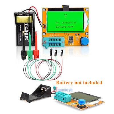 12864 Lcd Mega328 Esr Transistor Resistor Diode Capacitor Mosfet Tester Module