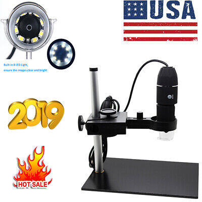 Digital Hd 1000x Microscope Usb Magnifying Camera For Wins Android Phones W6h3