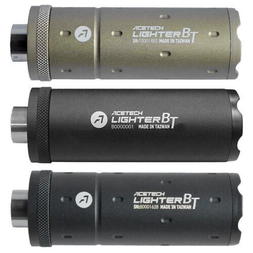 AceTech LIGHTER BT Compact Rechargable Bluetooth Airsoft Tracer Unit / Chrono