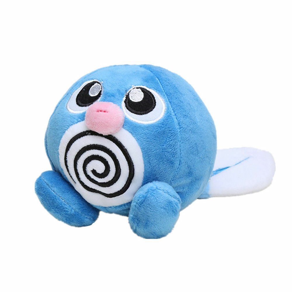 Pokemon Center Poliwag Plush Toy Stuffed Animal Figure Doll