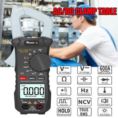 6000 Counts True Rms Clamp Meter Ac Dc Voltagecurrent Digital Multimeter Us G