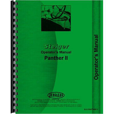 Steiger Panther Tractor Operators Manual