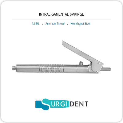 Intraligamental Syringe 1.8ml Dental Instruments