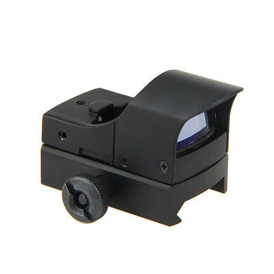 Tactical Holographic Reflex Red Green Dot Sight Scope Rails Rifle Gun 20mm