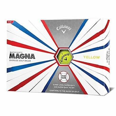 Callaway Golf Supersoft Magna Golf Balls,  yellow