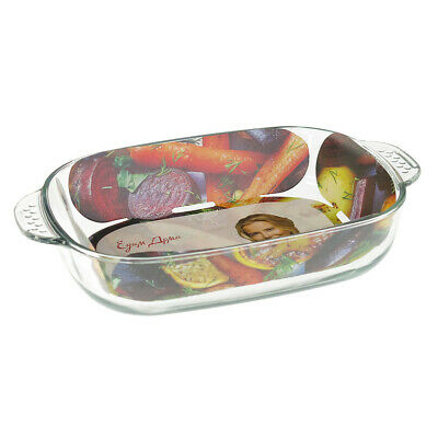 2.5 qt Premium Glass Baking Dish Casserole Pan