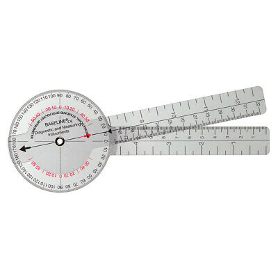 Mm Baseline 360 Isom Plastic Goniometer 6 With 4 1 Degree Increments