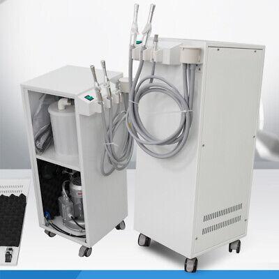 Dentist 350w Portable Dental Vacuum Suction Unit High Vacuum Pump Unit 300lmin