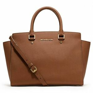 c045c0baa8dc Michael Kors Handbag Selma Large Top Zip East West Satchel for sale ...